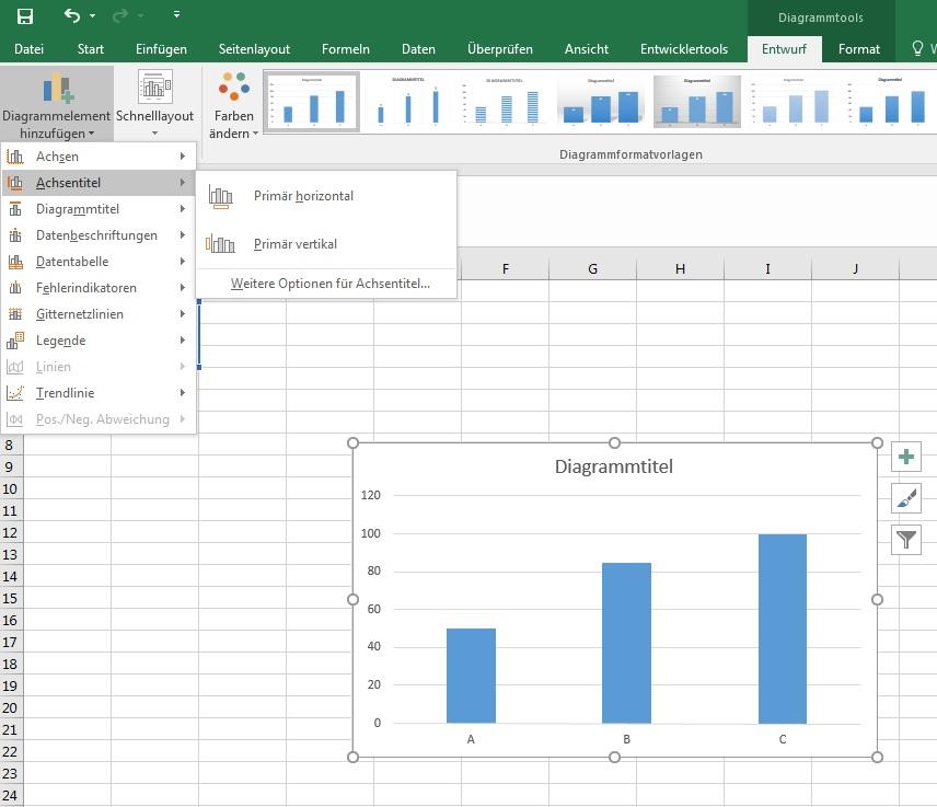 Excel diagramme richtig erstellen mitema excel diagramm achsenbeschriftung ccuart Gallery